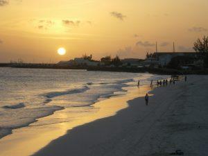 バルバドスの海