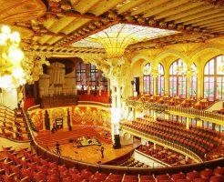 カタルーニャ音楽堂の内部2