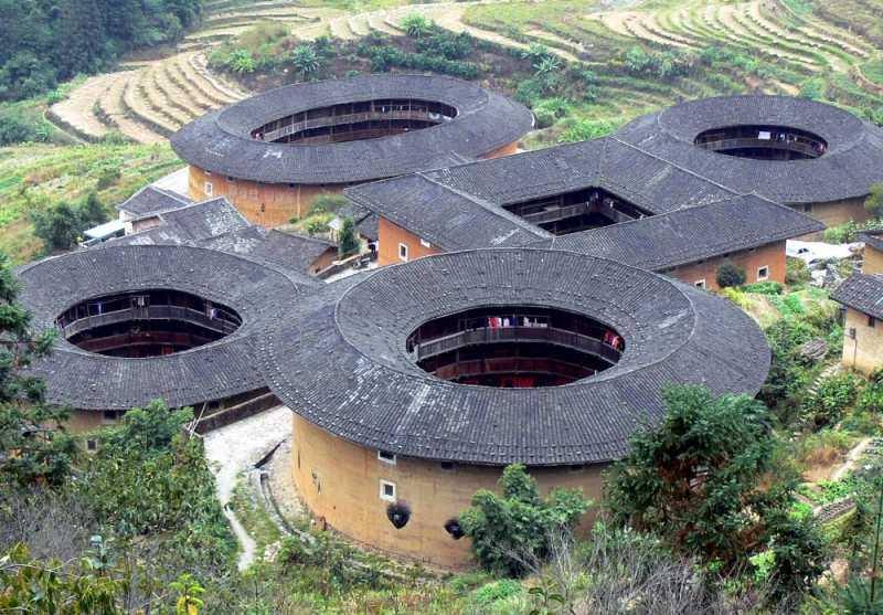 福建土楼群(中国)