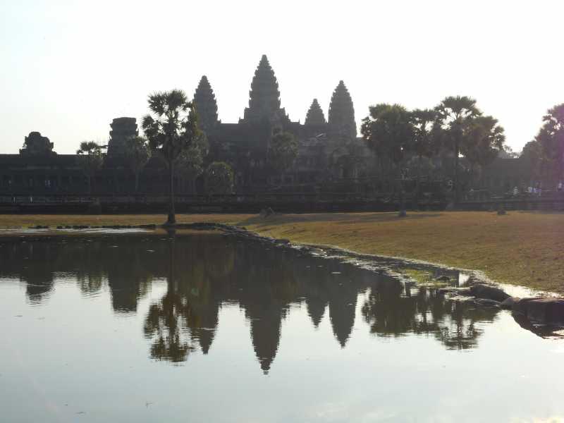 「アンコールの遺跡群」(カンボジア)