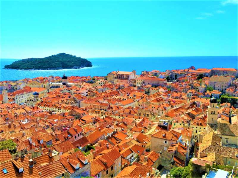 ~アドリア海の真珠~ドブロブニク旧市街(クロアチア共和国)
